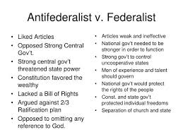 federalist vs anti federalist essay our work anti federalist argument essays