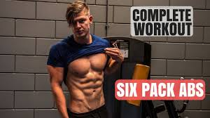 Six Pack Abs Workout Chart Building Six Pack Abs Full Workout Routine