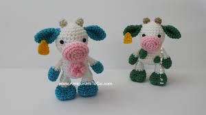 Crochet Cow Pattern Awesome Decorating