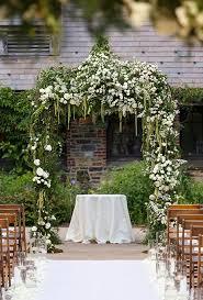 Garden Inspired Wedding Ceremony