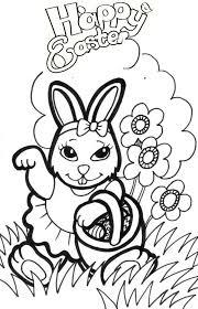 Rabbit Coloring Pages 86 Best Kleurplaten Konijnen Rabbit Coloring