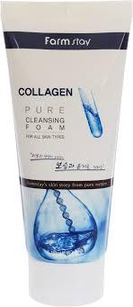 FarmStay <b>Пенка для умывания</b> с коллагеном Collagen Pure ...