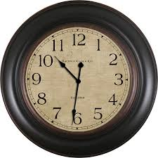 display reviews for og round indoor wall clock