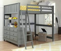 bunk bed office underneath. Full Loft Bed Desk Image Of Gray Bunk Underneath Office D