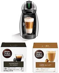 Find below our list of the top picks on the market. Amazon Com Nescafe Dolce Gusto Coffee Machine Genio 2 Espresso Cappuccino And Latte Pod Machine And Coffee Capsules 48 Single Serve Pods 48 Count With Cafe Au Lait 7 9 Ounce Pack Of 3 Kitchen Dining