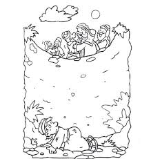 Joseph Many Colored Coat Coloring Page Of Colors With Mosshippohaven