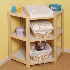 Badger Basket Diaper Corner Changing Table