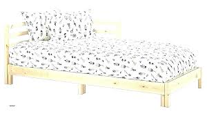 ikea white bed frame