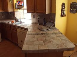 diy tile kitchen countertops