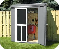outdoor wood shed handy home wood shed w black shingles small wood garden shed kits