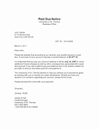 Past Due Bill Letter Invoice Example Past Due Notice Letter 450723 Template To Customer