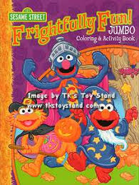 Tk S Toy Stand Sesame Street Coloring Books More