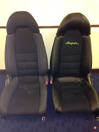 toyota supra mkiv genuine leather seat covers