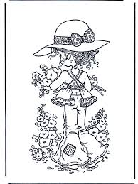 Bloemen Plukken Kleurplaten Sarah Kay