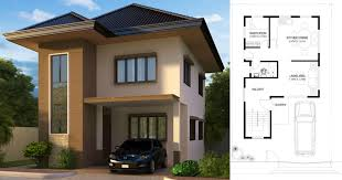 simple 2nd floor house design with