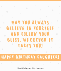 Happy Birthday Quotes For Daughter Amazing 48 Beautiful Ways To Say Happy Birthday Daughter Unique Quotes
