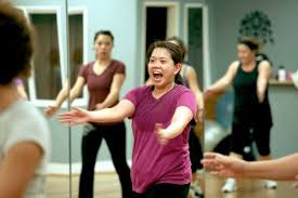inspired by traditional bia salsa samba and merengue steps bined with pulsating latin rhythms and top 40 zumba is a dance fitness program