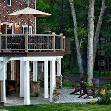 deck design ideas with screened porch outdoor living under deck patio ideas square deck patio ideas patio under deck