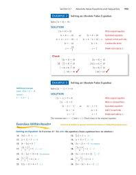 college prep algebra page 152 152 chapter 3 equations inequalities and problem solving 3 7 absolute value equations and inequalities solve absolute