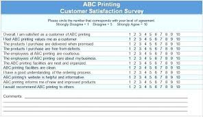 Customer Satisfaction Survey Template Stunning Internal Customer Service Survey Free Templates Satisfaction