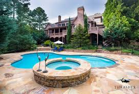 Atlanta Custom Pool and Spa Thrasher Pool Spa
