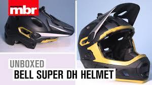 Bell Super Dh Helmet Unboxed Mountain Bike Rider