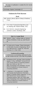 Ieee Citation Style Guide Panduan Pengutipan Ieee