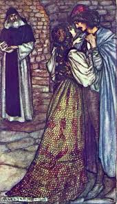 best friar lawrence images romeo and juliet  arthur rackham romeo and juliet at the cell of friar lawrence from tales