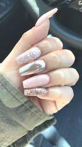fashion white acrylic nails with glitter winning 5 beautiful cute nail design ideas fitnailslover art photo white acrylic nails with glitter