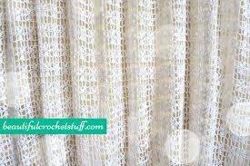 crochet curtain crochet curtain free pattern crochet flower curtain ties