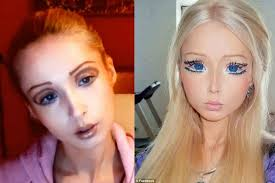 valeria human barbie fake