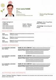 You just need to click on the free download link and open the file in ms word. Free Resume Formats Download For Word Best Cv For Jobs