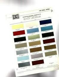 Details About 1969 Buick Color Chip Paint Sample Chart Brochure Riviera Skylark