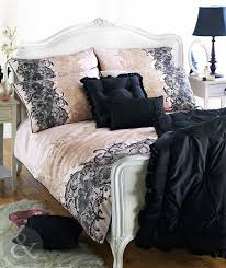 bedding set trendy black and cream bedding and curtain sets intrigue black and cream bed