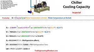 Evaporator Coil Sizing Chart Chiller Cooling Capacity How To Calculate The