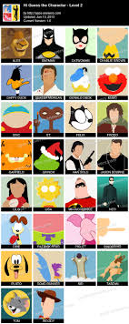 hi guess the character level apps answers apps answers apps answers for latest version of hi guess the character level 2 guides for iphone itunes android and windows phones