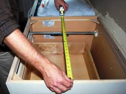 the most accurate way to get measurements for your fabricator is to make a template from