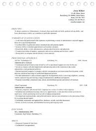 Examples Of Executive Assistant Resumes Administrative Assistant ...