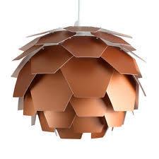 Large Modern Copper Style Artichoke Ceiling Light Pendant Shade Lighting