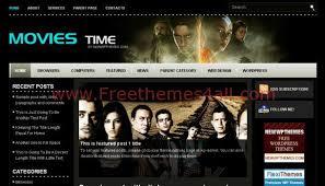 Wordpress Movie Theme Free Black Cinema Movies Wordpress Theme Download