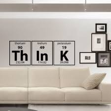 wall decal for office. Buy Wall Decal Vinyl Sticker Periodic Table Think Elements For Office T