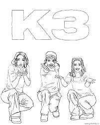 K3 Kleurplaten En Meer K3 Bij Pinkelotje