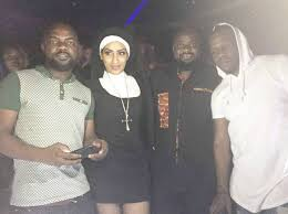 Image result for Fake Christians - Juliet Ibrahim fires critics of her sexy Nun outfit