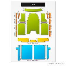 Lincoln Theatre 2019 Seating Chart