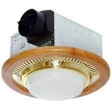 how to remove round broan bathroom fan