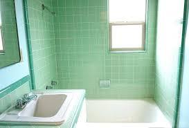 mint green bathroom sink