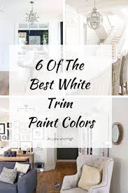 6 of the best white trim paint colors