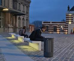 bench lighting. LED-Line UHPC Benches Bench Lighting E