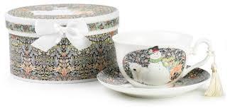 SIJ <b>Чайная пара</b> Веселый Снеговик <b>220</b> мл — купить по выгодной ...