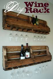 DIY Wine Rack Plan from The Kurtz Corner